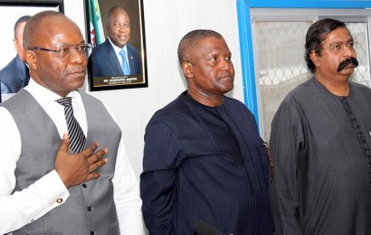 FG implores Dangote on 2019 completion date for refinery
