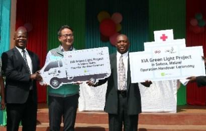 Kia hands over secondary school, healthcare center to communities