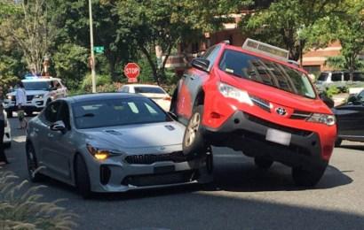 Drama as Toyota RAV4 lands on new Kia Stinger