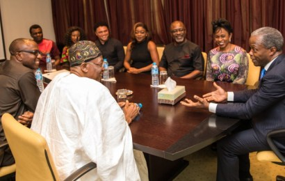 Osinbajo: Nigerian entertainment industry is absolutely amazing, extremely professional