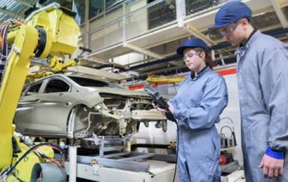 Between the future of work and auto industry