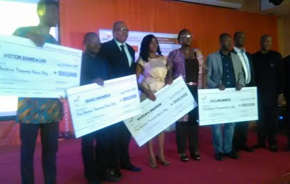 Four Journalists emerge winners of PwC media excellence awards, gets N2million