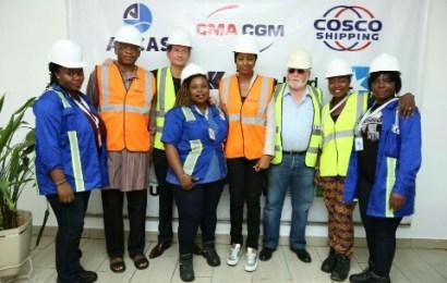 TICT unveils Africa's first female harbour crane operators