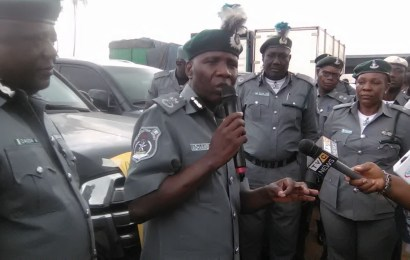NCS confiscates four bullet-proof  SUVs, 55 others in Lagos