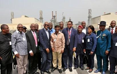 Reps at NLNG's Bonny Plant, lauds CSR initiatives