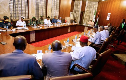 Buhari challenges security agencies on intelligence gathering