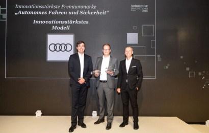 Audi A8 Gets 2018 Most Innovative Model Award