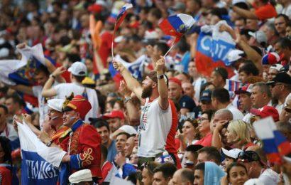 FIFA Fines Russia For Discriminatory Banner
