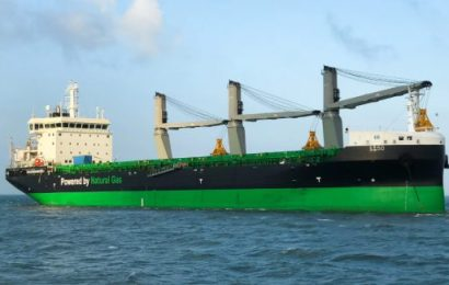 Firm Takes Delivery Of LNG-Fueled Bulker