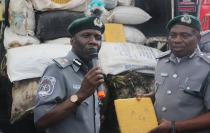 Customs FOU Impounds N2B Goods In Two Weeks