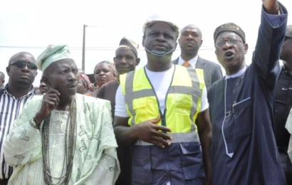 Lai Mohammed Flags Off Road Rehabilitation Project