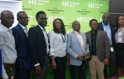 Heritage Bank Wins Three Agric, SME Awards