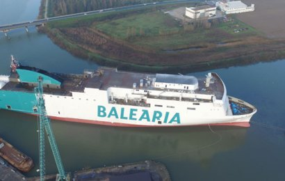 Firm Unveils New LNG-Fueled Ferry