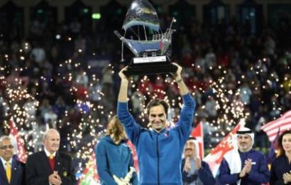 Federer Wins 100th ATP Title