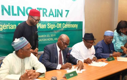 NLNG, NCDMB sign Nigerian Content Plan for Train 7