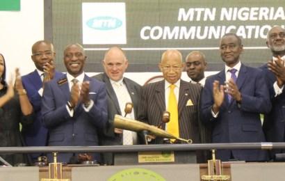 NSE Admits 20.35billion Shares Of MTN 