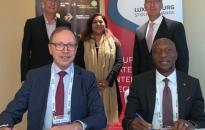 Nigeria, Luxembourg Stock Exchange Sign Green Bond Markets MoU