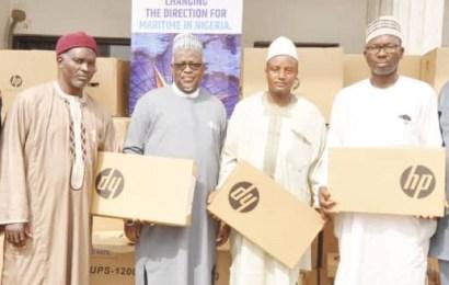 NIMASA Donates Desktop Computers, Laptop, Textbooks, Others To Schools
