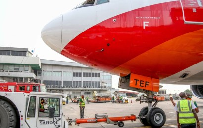 SAHCO GETS GROUND HANDLNG CONTRACT FOR TAAG-ANGOLA AIRLINES