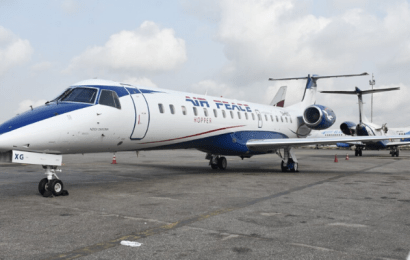 Air Peace Takes Delivery Of New ERJ-145 Aircraft