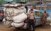 FRSC Impounds 40 Overloaded Vehicles