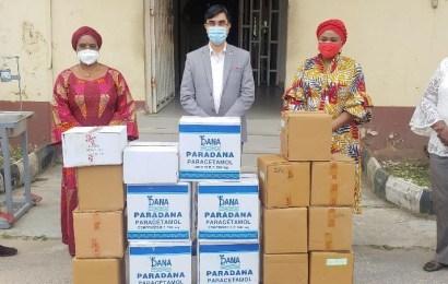 Covid-19: Dana Pharmaceuticals Donates Essential Drugs To Lagos State