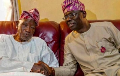 Sanwo-Olu Celebrates Jakande At 91