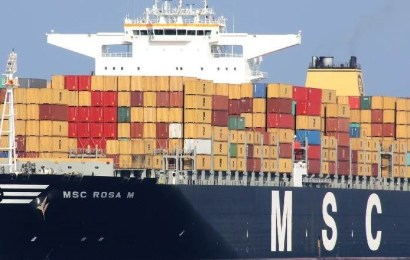 MSC Ship Loses 20 Containers Off South Africa
