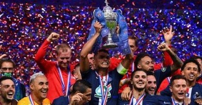 PSG Wins French Cup
