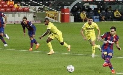 Messi Back In Scoring Business As Barca Wins La Liga Opener