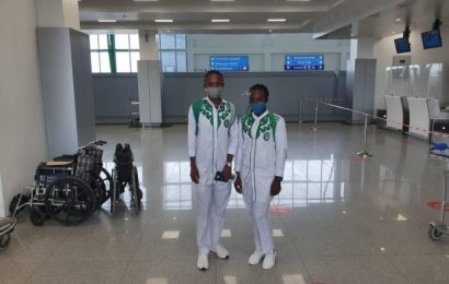 Two Nigerian Cyclists Begin Training In Cairo