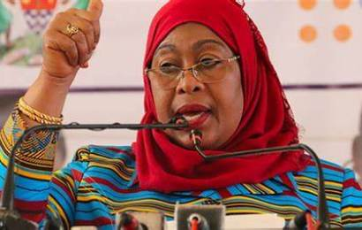 Buhari Congratulates Samia Hassan, Tanzania's First Female President