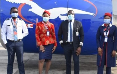 Air Peace Pilots, Cabin Crew, Others Receive COVID-19 Vaccine
