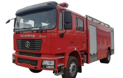 SHACMAN Fire Truck Debuts