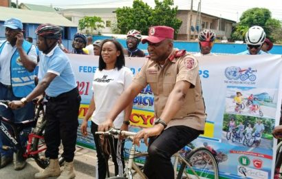 FRSC Seeks Dedicated Lanes For Cyclists