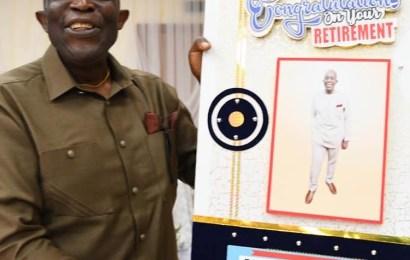 Danbatta, Others Celebrate Retired Deputy Director, Jerry Ugwu