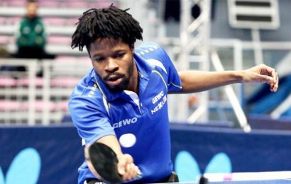 Tokyo Olympics: Omotayo knocked Out Of Men's Table Tennis Singles Event