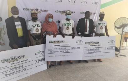 Unity Bank Corpreneurship Challenge Produces 30 More Winners