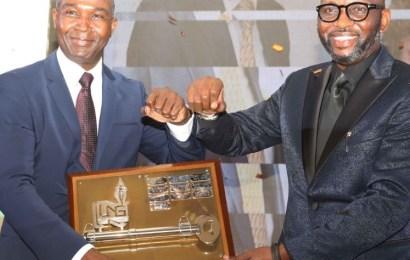 Attah Hands Over NLNG Key To Mshelbila