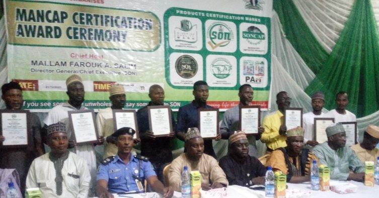 SON Issues 13 Manufacturers MANCAP Certification