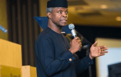 Osinbajo Clarifies View On Exchange Rate