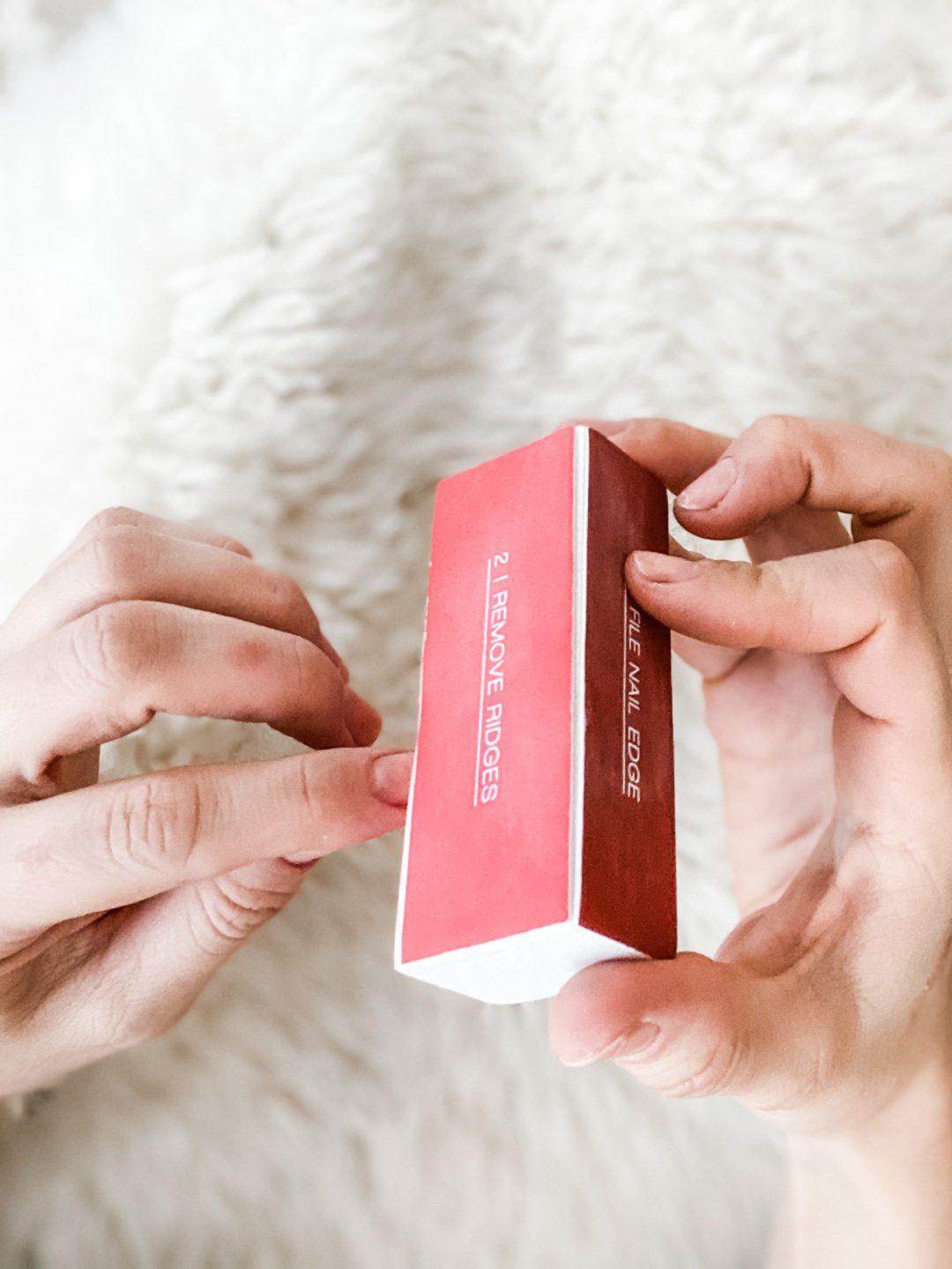 manicure smoothing