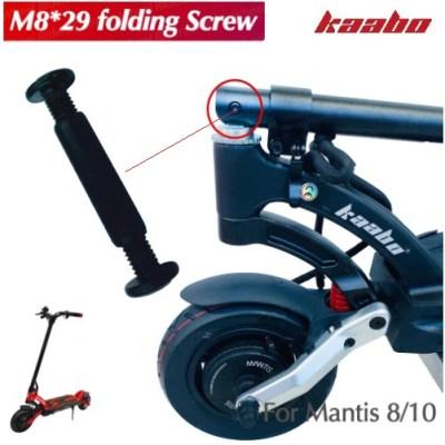 TL10.022 Vijak preklopa M8 29 za Kaabo Mantis- Screw M829 for Kaabo Mantis electric scooter stem