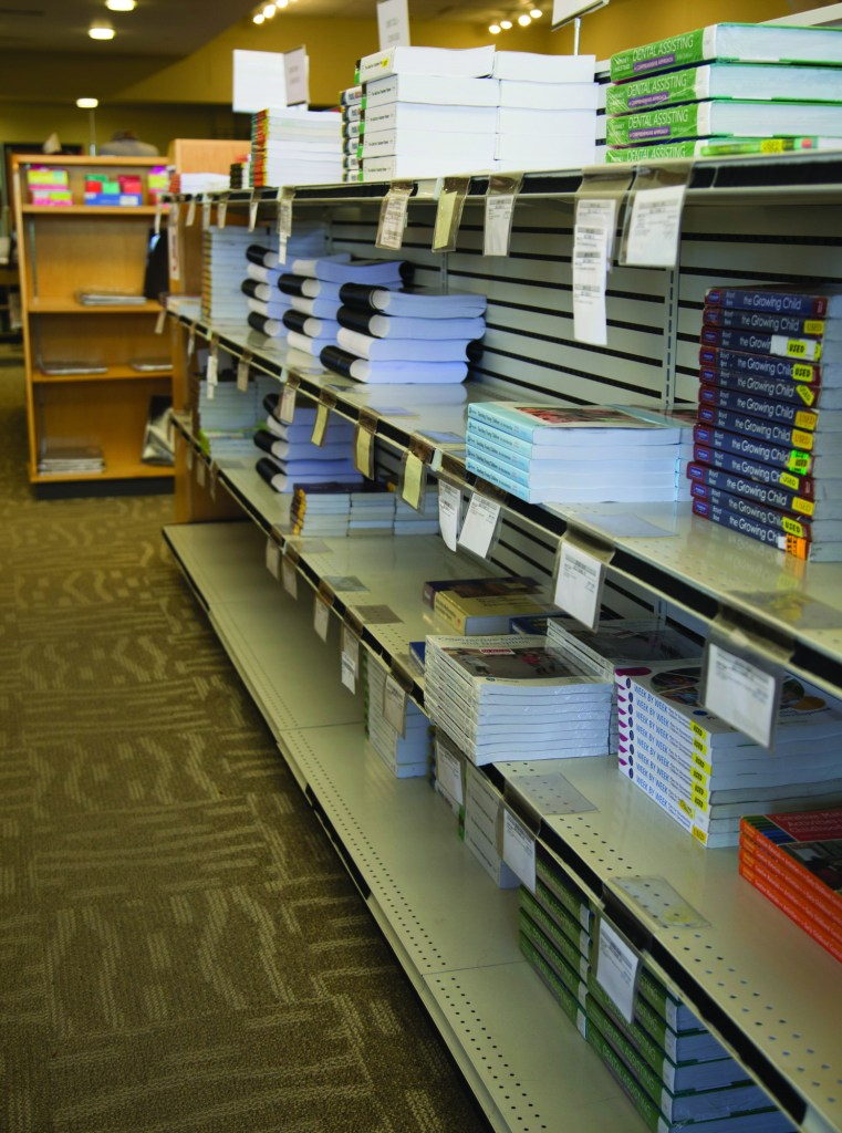 MCTC bookshelves