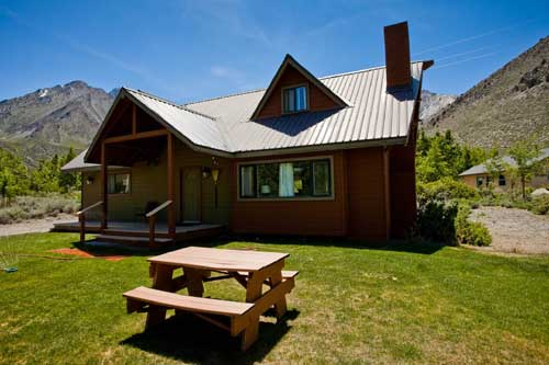 kitchen picnic table commercial for rent nyc convict lake resort: cabin rentals reservations: city ...