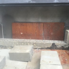 House Foundation Cutting