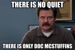 Ron Swanson Doc McStuffins