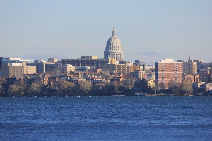 Madison Dads Group Wisconsin skyline