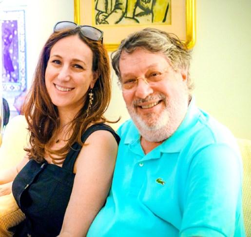 Liz Gumbinner and her father Paul