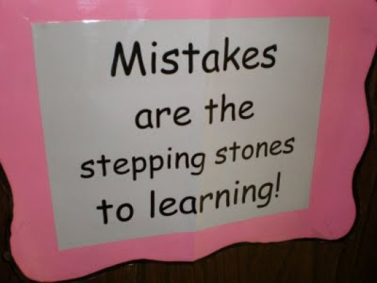 Let Children Fail mistakes are stepping stones